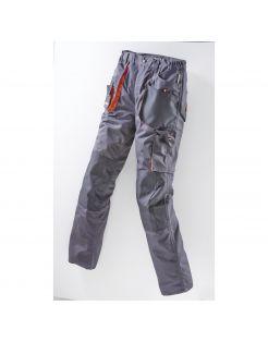 Terra Trend Job Heren Werkbroek Donkergrijs&Zwart&Oranje - Werkkleding