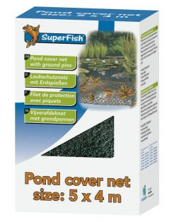 Superfish Vijverafdeknet - Onderhoud
