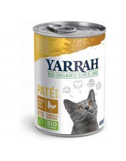 Yarrah Bio Kat Blik Paté 400 g - Kattenvoer