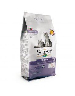 Schesir Cat Dry Senior Kip - Kattenvoer