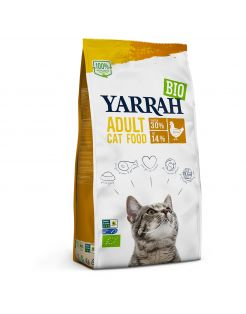 Yarrah Biologisch Adult Kip - Kattenvoer