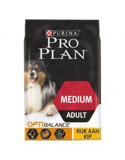 Pro Plan Dog Adult Medium Breed Kip - Hondenvoer