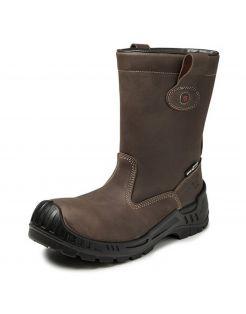 Gevavi Safety Werklaars Rome Gs90 S3 Bruin - Werkschoenen