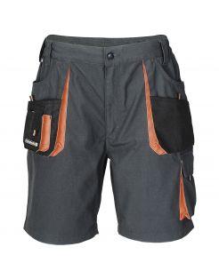 Terra Trend Job Werkshort Grijs&Oranje&Zwart - Werkkleding