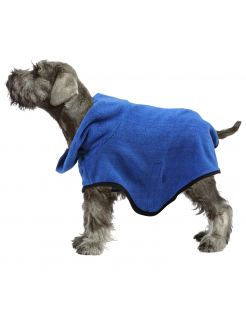 Pawise Badjas Blauw - Hondenverzorging