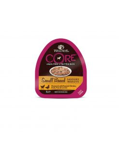 Wellness Core Small Breed Savoury Medleys 85 g - Hondenvoer