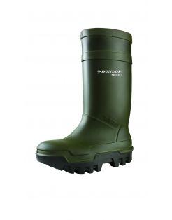Dunlop Veiligheidslaars S5 Thermo Plus Groen - Werkschoenen