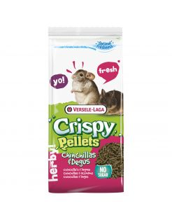 Versele-Laga Crispy Pellets Chinchilla&Degu - Chinchillavoer