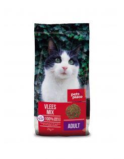 Pets Place Kat Adult Vleesmix - Kattenvoer