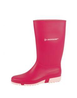 Dunlop Sportlaars Pvc Roze&Wit - Laarzen