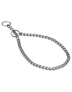 Adori Halsketting Fijn Chroom - Hondenhalsband