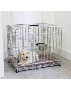 Adori Bench 2-Deurs De Luxe Verzinkt - Hondenbench