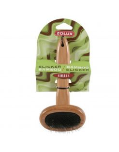 Zolux Bamboo Slicker Small - Hondenvachtverzorging