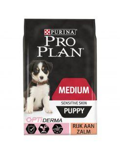 Pro Plan Dog Puppy Medium Breed Sensitive Zalm - Hondenvoer