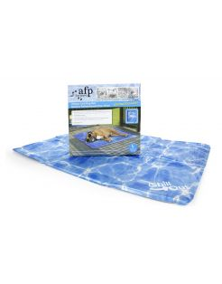 All For Paws Chill Out Koelmat Blauw - Hondenverkoeling