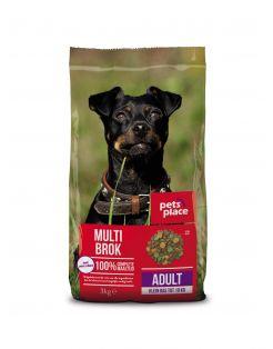 Pets Place Adult Mini Gevogelte&Vlees - Hondenvoer