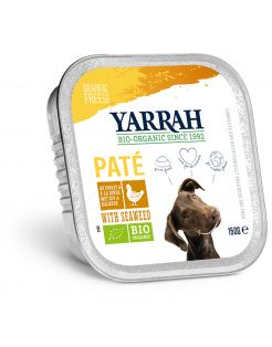 Yarrah Bio Alu Pate Graanvrij 150 g - Hondenvoer