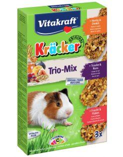 Vitakraft Cavia Kracker 3in1 - Knaagdiersnack