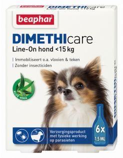 Beaphar Dimethicare Line-On Hond - Anti vlooien en tekenmiddel