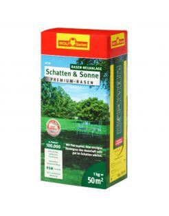 Wolf-Garten Graszaad Schaduw&Zon Premium-Gazon - Graszaden