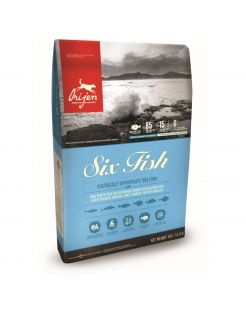 Orijen Whole Prey Six Fish Dog Sardines&Makreel - Hondenvoer