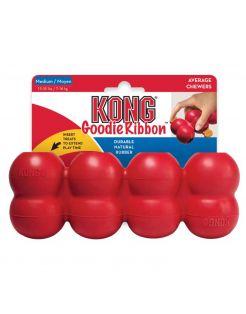 Kong Goodie Ribbon Rood - Hondenspeelgoed