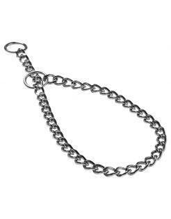 Adori Halsketting Extra Grof Chroom - Hondenhalsband