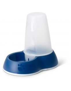 Savic Water Silo Transparant&Blauw - Hondenvoerbak