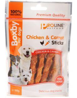 Boxby Chicken/Carrots Sticks 100 g - Hondensnacks