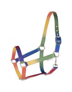 Waldhausen Halster Regenboog Multi-Color - Paardenhalster