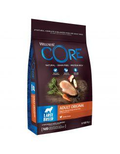 Wellness Core Grain Free Dog Large Breed Adult Kip - Hondenvoer