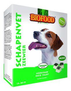 Biofood Schapenvet Mini 80 stuks - Hondensnacks