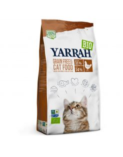 Yarrah Biologisch Grain-Free Kip - Kattenvoer