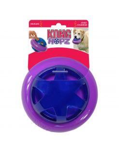 Kong Hopz Ball Paars&Blauw - Hondenspeelgoed