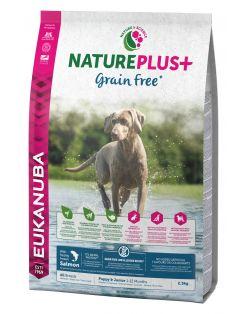 Eukanuba Natureplus+ Puppy Grainfree All Breeds Zalm&Gevogelte - Hondenvoer
