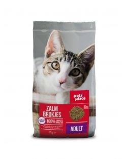 Pets Place Kat Adult Zalm - Kattenvoer