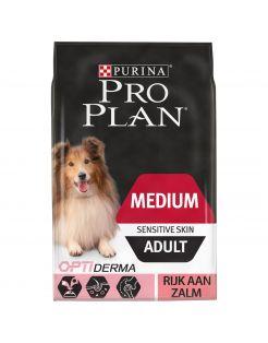Pro Plan Dog Adult Medium Breed Sensitive Zalm - Hondenvoer