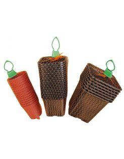Nature Plastic Stekpotjes Zwart - Kweekbenodigdheden