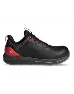 Redbrick Motion Fuse S3 Rood&Zwart - Werkschoenen