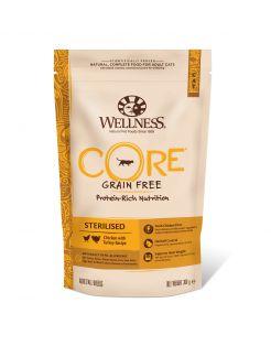 Wellness Core Grain Free Cat Sterilised Kip&Kalkoen - Kattenvoer