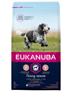 Eukanuba Caring Senior Medium Breed Kip - Hondenvoer