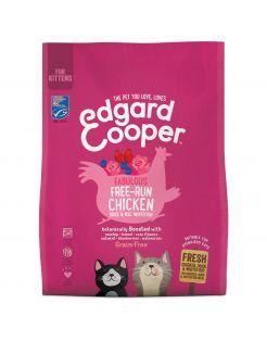 Edgard&Cooper Kitten Kip&Eend&Witvis - Kattenvoer