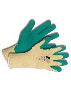 Hands-On Werkhandschoen Katoen/Latex Grijs - Handschoenen