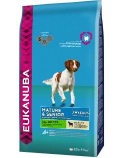 Eukanuba Mature Senior Lam&Rijst - Hondenvoer