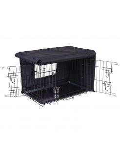 Adori Bench Hoes Zwart - Hondenbench