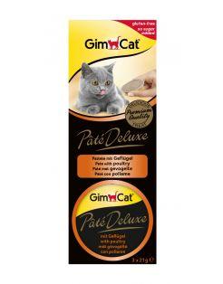 Gimcat Paté De Luxe 3x21 g - Kattensnack
