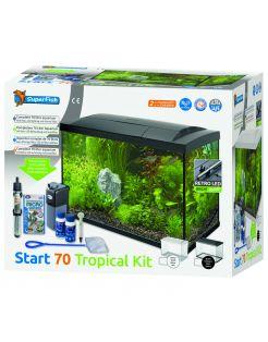 Superfish Aquarium Start 70 Tropical Kit Retro Led 70 l - Aquaria