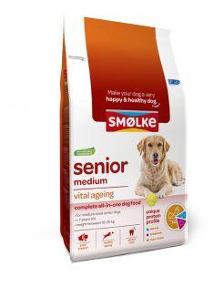 Smolke Senior Medium Kip&Lam&Vis - Hondenvoer