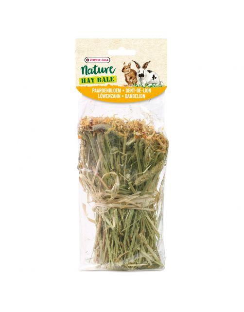 Versele-Laga Nature Snack Hay Bale Dandelion - Ruwvoer - Paardebloem 70 g