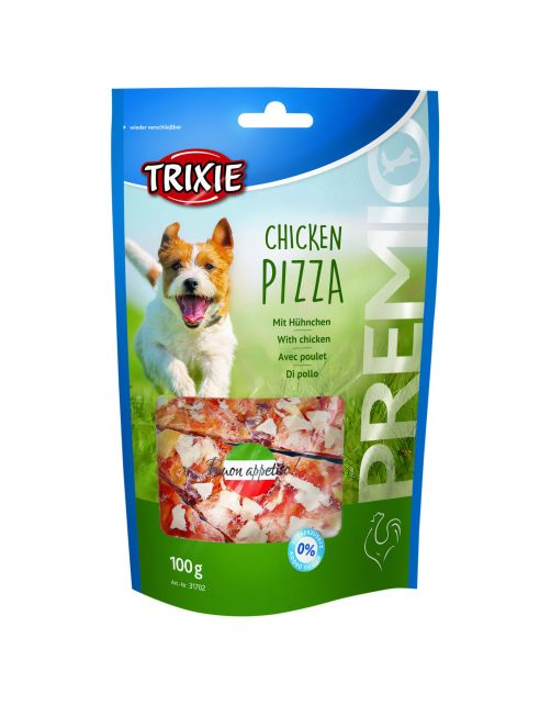 Trixie Premio Pizza - Hondensnacks - Kip 100 g